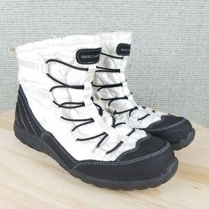 Skechers Reggae Fest Steady 49301 Faux Fur Boots